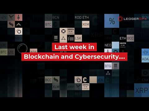 Blockchain And Security News 8.20.2019