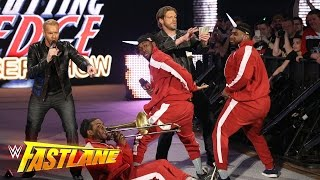 Edge & Christian join forces with The New Day: WWE Fastlane 2016