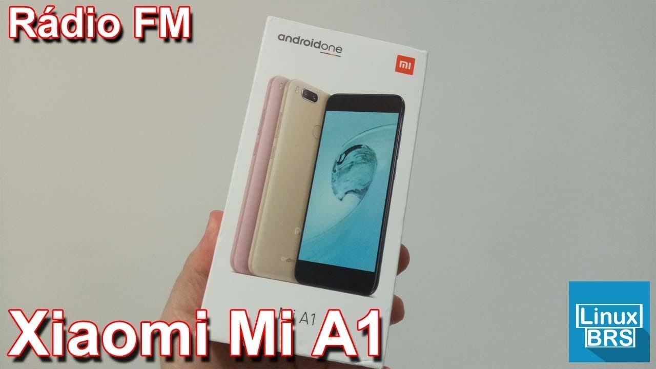Xiaomi MiA1 - Rádio FM