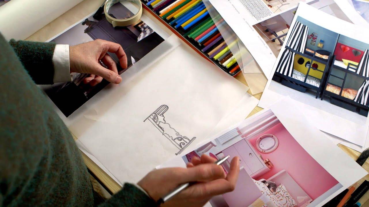 Kinderzimmer teilen trennwand  Ideen von IKEA: 2 Kinder, 1 Zimmer? Kein Problem! - YouTube