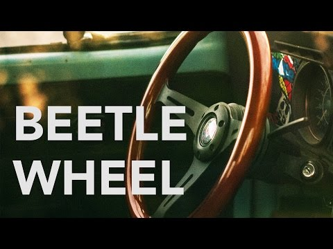 1973 VW Beetle Steering Wheel Install!
