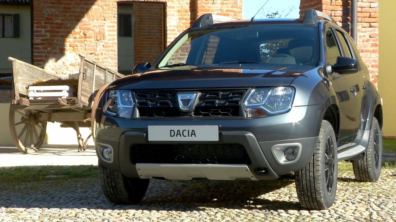Dacia duster black shadow youtube for Dacia duster black shadow interni