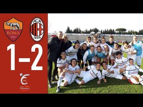 Highlights Roma 1-2 AC Milan - Matchday 9 Women's Serie A 2018/19
