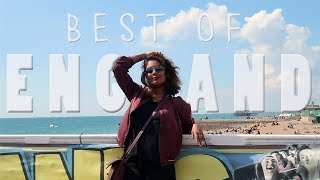THE BEST PLACES TO SEE IN ENGLAND, UK   Jovita George Travel Vlog
