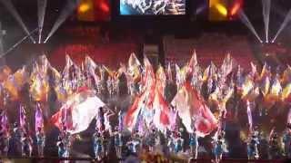 Dynamic Dance Soka Gakkai Indonesia on 2014 Culture Festival for Peace