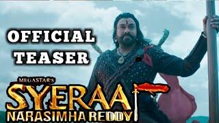 Download Video Sye Raa Teaser | Review | Chiranjeevi | Ram Charan | Vijay Sethupathi | Nayanthara MP3 3GP MP4