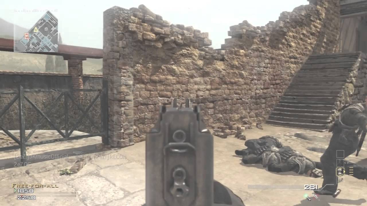 Mw3 How To Get Out Of Erosion Face Off Map Youtube