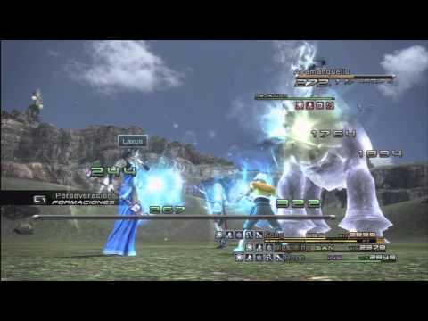 Guía Comentada Final Fantasy XIII HD - Derrotar Adamanquelis 5 Estrellas (Capítulo 11)