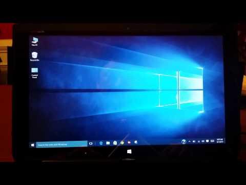 Windows 10: screen won't auto rotatate