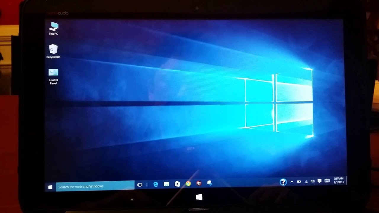 windows 10 screen will not auto rotate