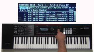 Roland Juno-DS - Advanced Layers and Splits 01