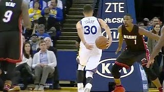 """Stephen Curry Flashes Ridiculous """"Pistol"""" Pete Maravich Impression"""