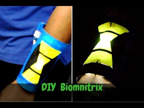 Diy Ben 10000 omnitrix   How to make Ben 10 omniverse  Biomnitrix