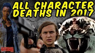 The Walking Dead All Character Deaths in 2017