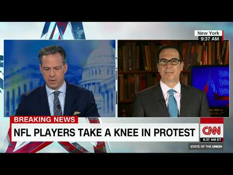 Steven Mnuchin on NFL protests, tax cuts (CNN interview with Jake Tapper)