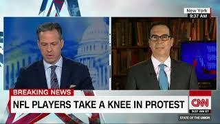 Steven Mnuchin on NFL protests, tax cuts (CNN interview with Jake Tapper)