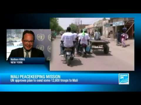 UN approves Mali peacekeeping force