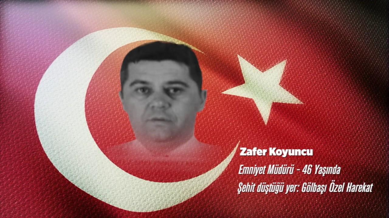 15 Temmuz Şehidi Zafer Koyuncu