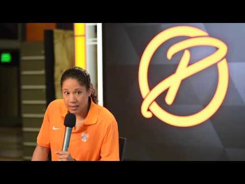 Former Lady Vol Kara Lawson comments on the passing of Pat Summitt