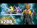 Dodge 200 Lightning Bolts on Final Fantasy X HD