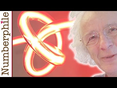 Neon Knots and Borromean Beer Rings - Numberphile