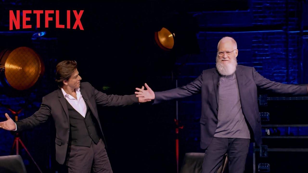 Image result for David Letterman Shah Rukh Khan
