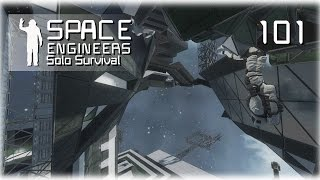 Space Engineers • Solo Survival • 101 • Enclosing