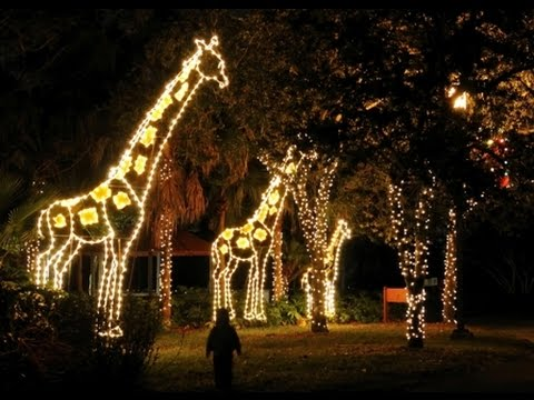 Zoo Lights 2014 Youtube