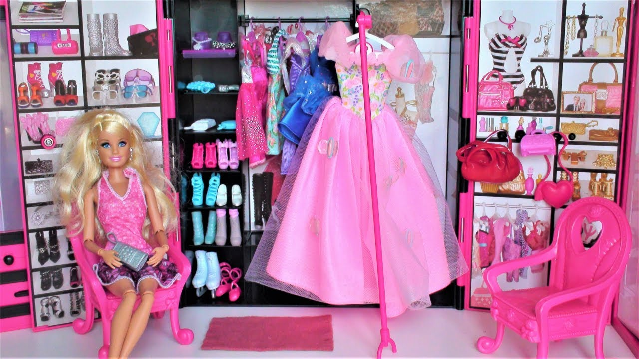 Barbie doll pink bedroom barbie dream house barbie clothes