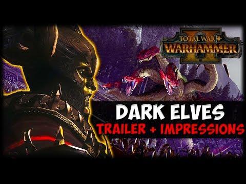Total War: Warhammer 2 - Dark Elves In-Engine Trailer - Analysis + Impressions