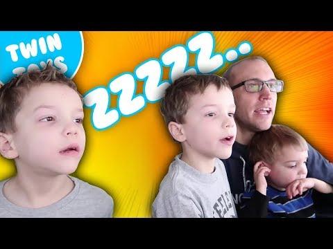 Nerf War:  Don't Wake Camden Kids React