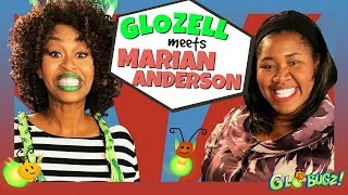 GloZell Meets Marian Anderson ft. DeOnzell Green | Black History Month | GloZell & the GloBugz