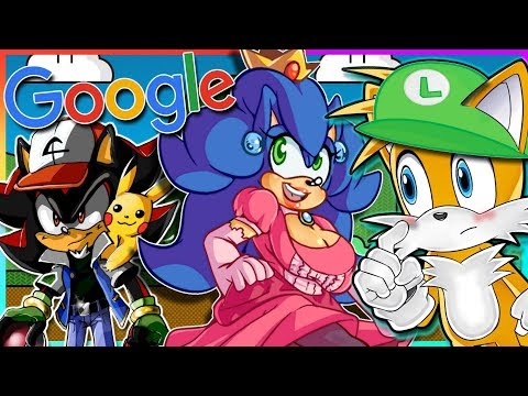 TAILS GOOGLES PRINCESS SONIC!! | Nintendo Crossovers