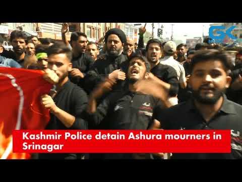 Kashmir Police detain Ashura mourners in Srinagar