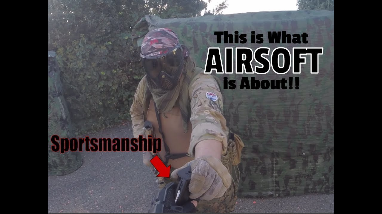 This is What AIRSOFT is About - AEX Gameplay 2 (part 1)