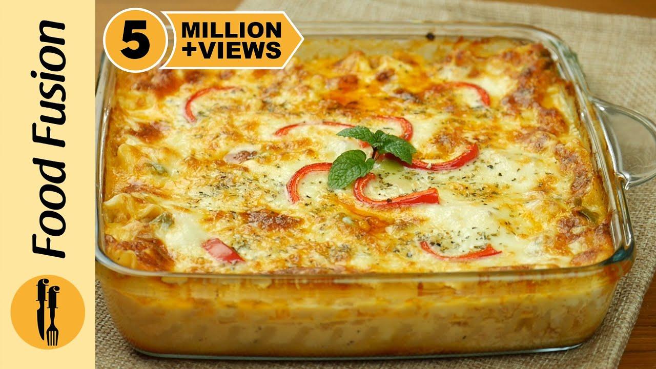 Chicken Lasagne By Food Fusion
