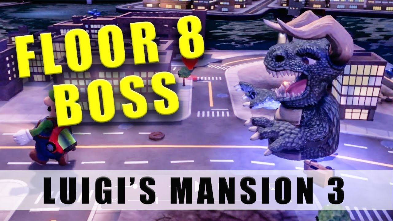 Luigi's Mansion 3 Monster Movie boss