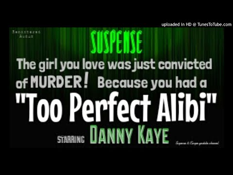 DANNY KAYE: Murder Alibi TOO Perfect? SUSPENSE Best Episode - Remastered Audio