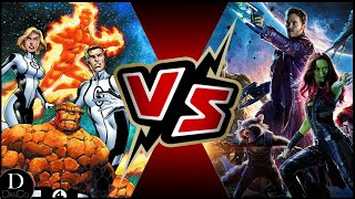 Guardians of the Galaxy VS Fantastic Four | BATTLE ARENA