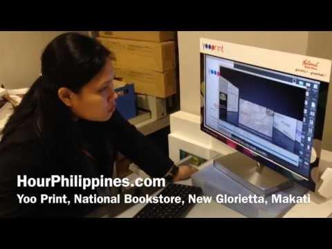 Yoo Print National Bookstore Glorietta Ayala Center Makati by HourPhilippines.com