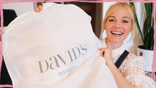 David's Bridal Try On Haul