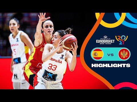 Spain - Montenegro | Highlights - FIBA Women's EuroBasket 2021