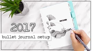 Bullet Journal Setup | PLAN WITH ME | Jul - Aug 2017