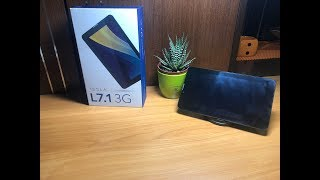 Review and unboxing tablet TESLA L7.1 3G