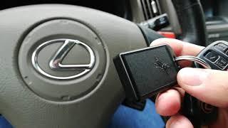 Проблема імобілайзер Lexus rx 300