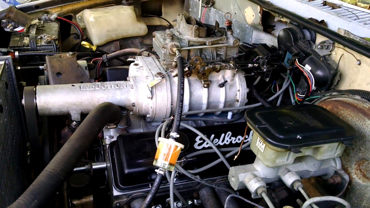 Supercharged v8 s10 first start