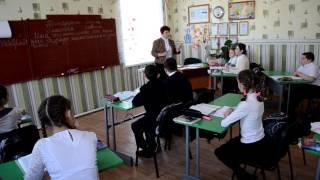 Відкритий урок з російської мови. Вчитель Соломахіна О.М.