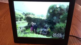 NIX Advance X08E 8 inch Digital Photo Frame Review