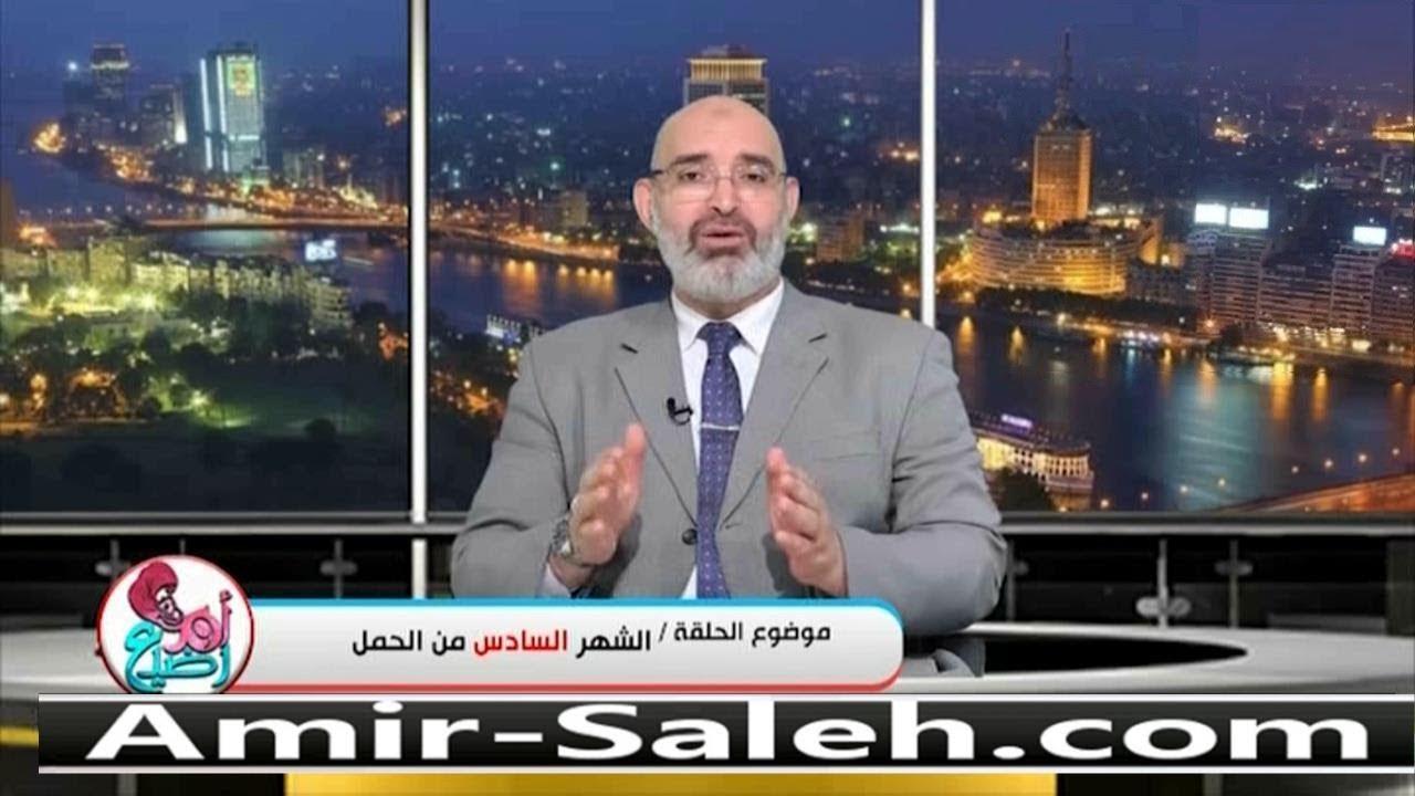 الشهر السادس من الحمل | الدكتور أمير صالح | برنامج أم ورضيع