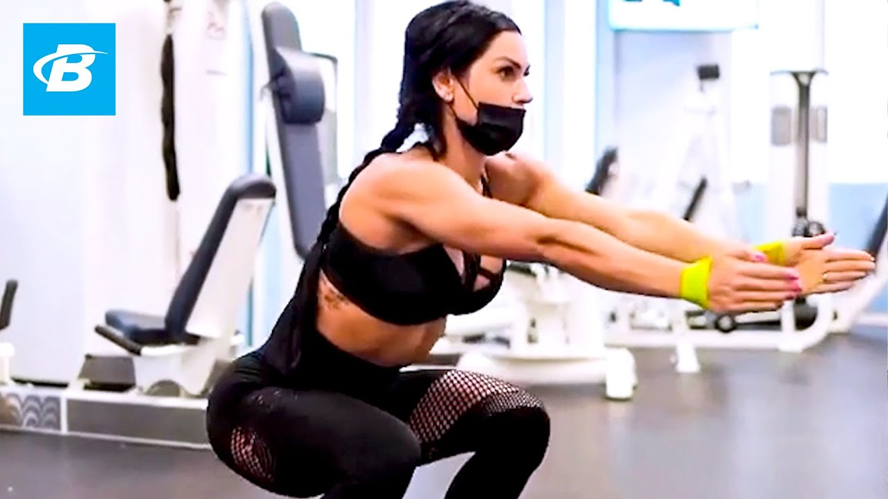 Fat Burning Tabata Workout | IFBB Pro Anita Herbert
